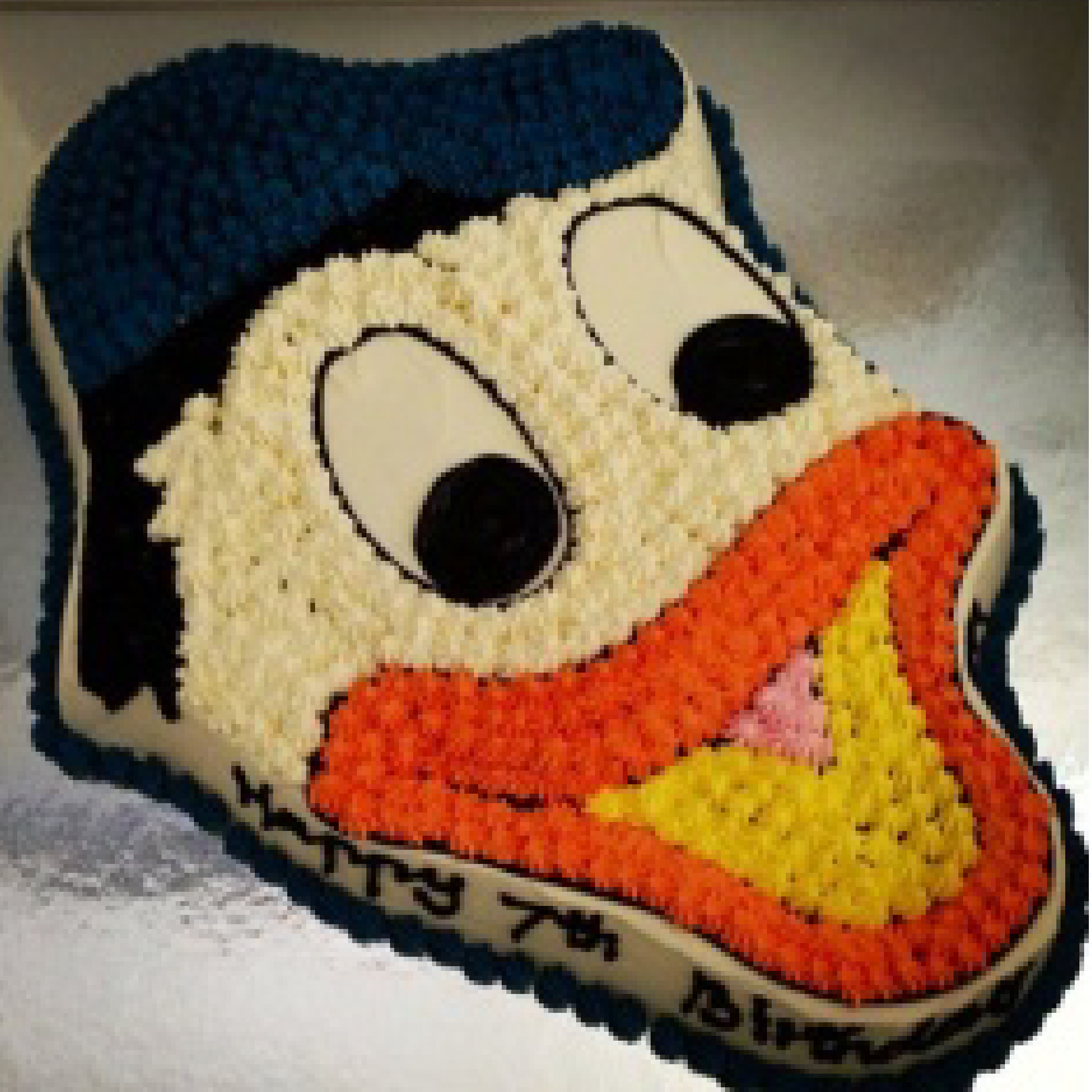 Donald Duck Shaped Ice Cream Cake Melbourne
